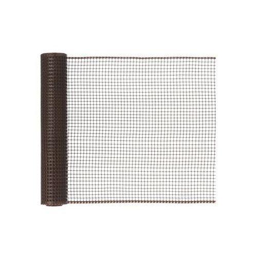 Siatka plastikowa 0.5 x 5 m brązowa SQUARE NORTENE