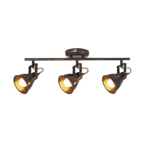 Rabalux Listwa lampa sufitowa spot vivienne 3x40w e14 antyczny brąz 5964