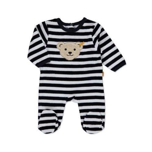 Steiff baby nicki śpioszki paski marine (4048043111938)