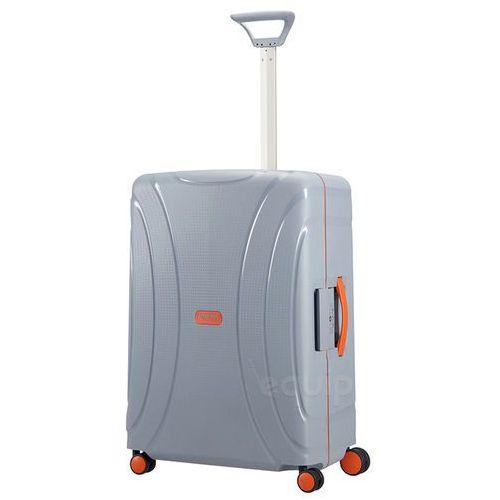 Walizka średnia American Tourister Lock'n'Roll + gratis poduszka podróżna - Volt grey (5414847730191)
