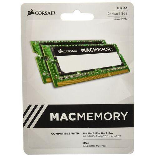 Corsair pamięć operacyjna do laptopa z certyfikatem apple, zielony 2 x 4 gb (7123290439961)
