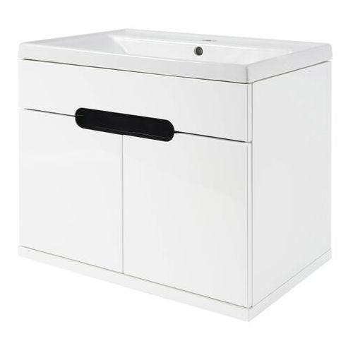 Szafka z umywalką Deftrans Bloom 60 cm biała (5906365411664)