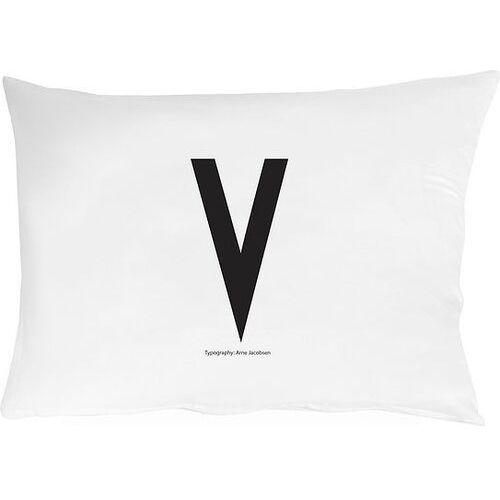 Poszewka na poduszkę Arne Jacobsens Vintage ABC litera V (5710498749316)