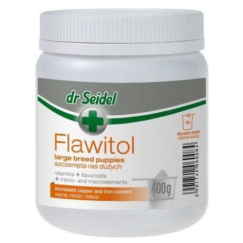 Proszek Flawitol witaminy dla szczeniąt ras dużych proszek 400g