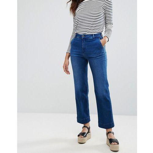 Tommy Hilfiger Cynthia Wide Leg Jeans - Blue, jeansy