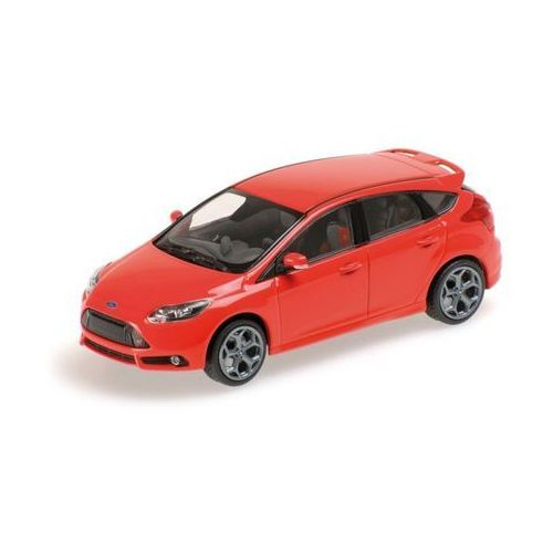 Minichamps ford focus st 2011 (red) (4012138117655)