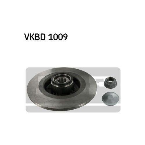 Skf vkbd 1009 tarcza ham tył z łożyskiem renault grand scenic 04- (7316572665558)