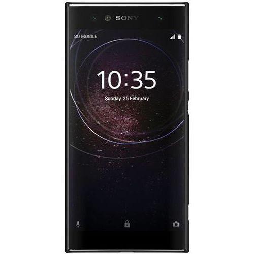 Etui Nillkin Frosted Shield Sony Xperia XA2 Ultra - Black - Black, kolor czarny