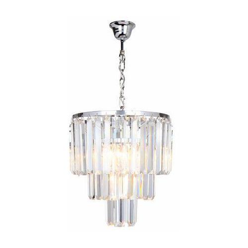 Zuma line 17106/3+1-chr amedeo lampa wisząca chrom/chrome, 17106/3+1-chr