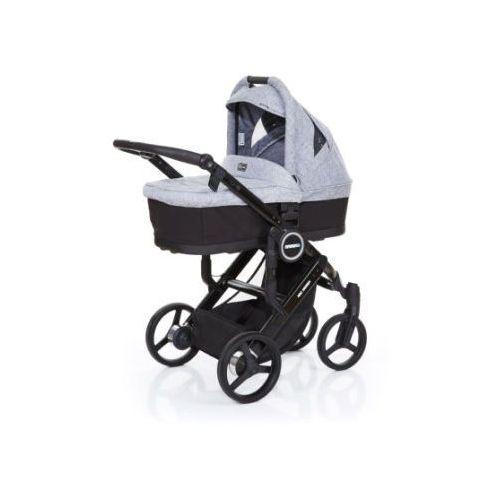 wózek dziecięcy mamba plus black-graphite grey, stelaż black / siedzisko black marki Abc design