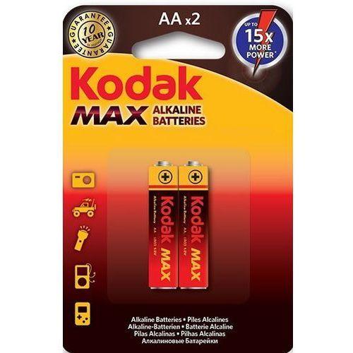 Bateria max lr6/aa (2 szt.) + zamów z dostawą jutro! marki Kodak