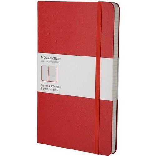 MOLESKINE Notes L Classic w kratkę czerwony - WIKR-1030415 Darmowy odbiór w 21 miastach! (9788862930338)