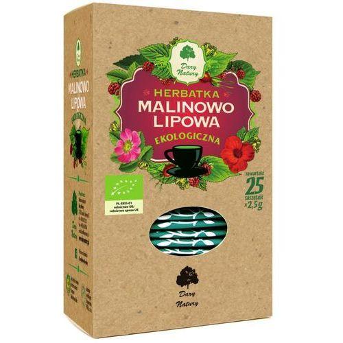 Dary natury - herbatki bio Herbatka lipowo - malinowa bio (25 x 2,5 g) - dary natury