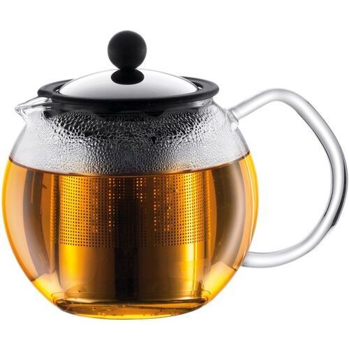 Mały zaparzacz tłokowy do herbaty assam 0,5 litra, stalowy filtr (1807-16) marki Bodum