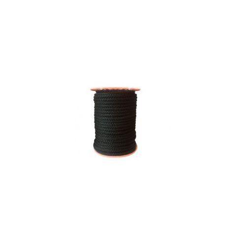Pielegnacjaobuwia Sznur lina 8mm polipropylen czarna 50mb