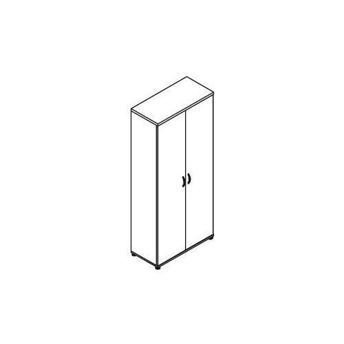 Szafa ubraniowo-aktowa 2-drzwiowa H52 wymiary: 80,2x38,5x183,3 cm, H52