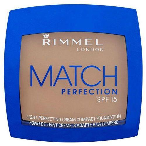 Rimmel london  match perfection compact foundation spf15 7g w podkład 100 ivory
