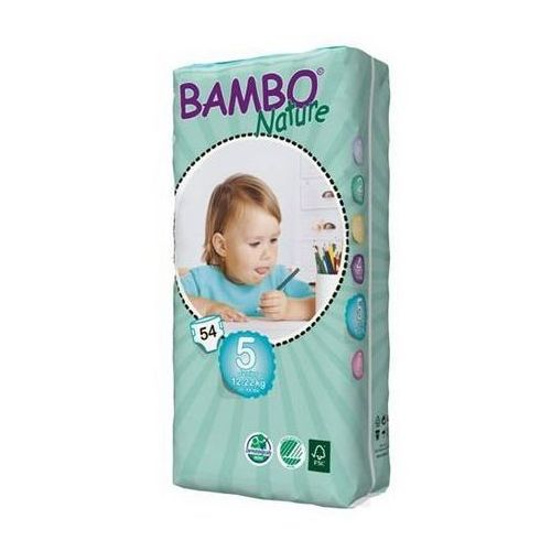 Bambo Nature Junior 12-22kg, 54szt. - produkt z kategorii- Pieluchy jednorazowe