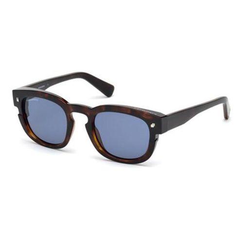 Okulary słoneczne dq0268 new andy 52v marki Dsquared2