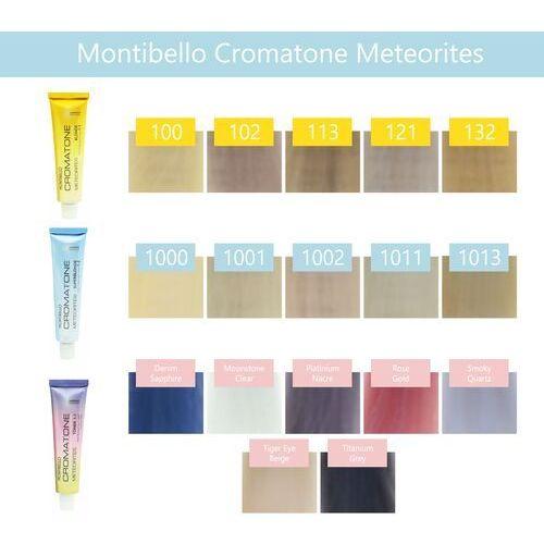 Montibello Cromatone Meteorites zestaw farba 60ml z oxydantem 60ml 100 rozjaśniany platynowy blond OXIBEL 12,5 VOL 3,75%