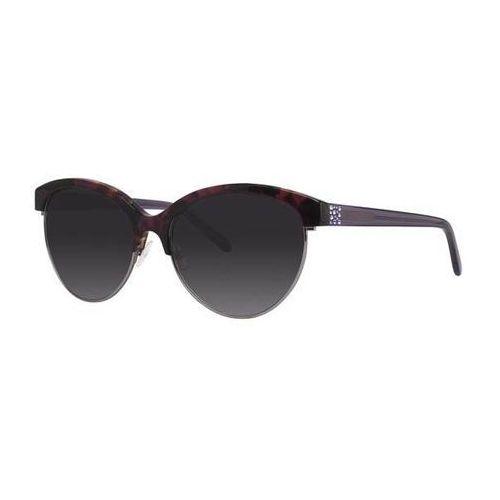 Vera wang Okulary słoneczne letti purple tortoise