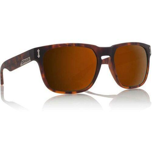 Okulary słoneczne - dr513sp monarch polar matte tortoise bronze (245) marki Dragon