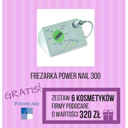 Zestaw: frezarka power nail 300 + kosmet. podocare marki Cosnet