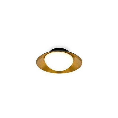 SIDE-Kinkiet lub Plafon Okrągły Metal Czarny Ø20cm