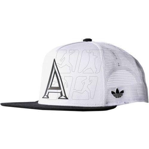 Czapka z daszkiem  trucker cap b&w ay9380 marki Adidas originals