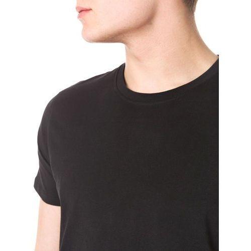 Jack & Jones JCOREPLICA LONGLINE FIT Tshirt basic black, bawełna