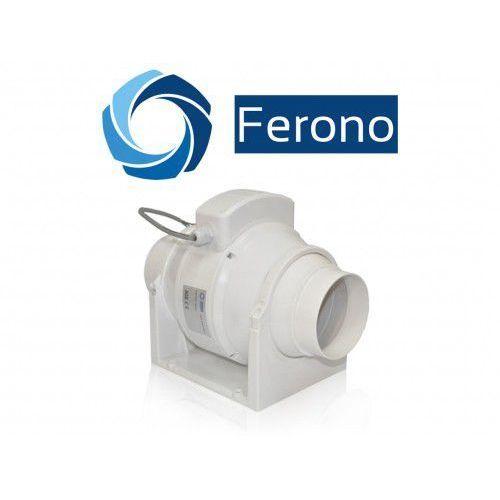 Wentylator kanałowy, osiowy, plastikowy 100mm, 198 m3/h (fkp100) marki Ferono