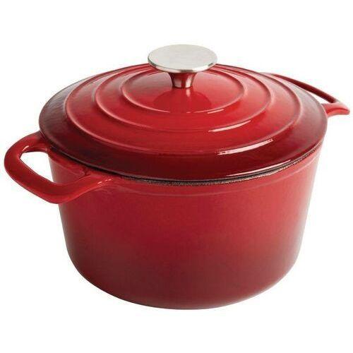 Naczynie żaroodporne | okrągłe | czerwone | różna pojemność