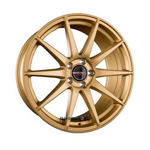 gtx gold matt einteilig 9.50 x 19 et 40 marki Borbet