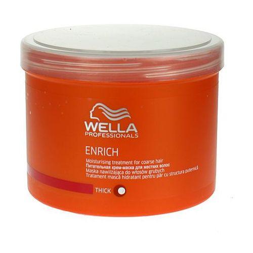 enrich moisturising - maska nawilżająca do włosów grubych 500ml od producenta Wella