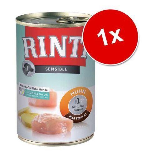 RINTI Sensible - kaczka, królik i ziemniaki 400g, 394-94056