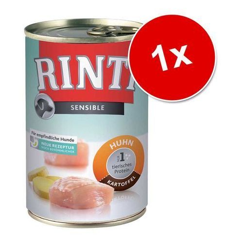 RINTI Sensible - kaczka, królik i ziemniaki 400g