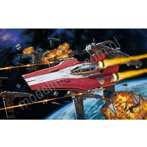 Revell Star wars - resistance a-wing fighter, czerwony (build & play) 06759