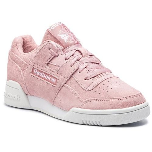 Buty Reebok - Workout Lo Plus CN6972 Smoky Rose/Wht/True Grey, kolor różowy