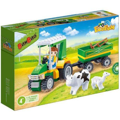 BANBAO Eko Farm Traktor 115 el. z przyczepą