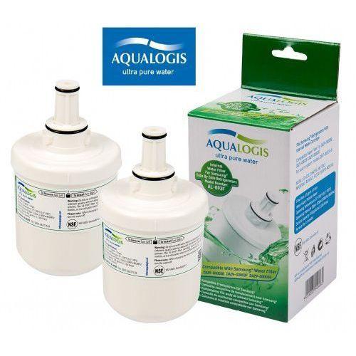 Aqualogis 2 x filtr wody do lodówki samsung da29-00003g hafin1exp - al-093f (5055885549460)