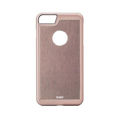 Etui aluminiowe KMP 1416630213 do iPhone 7 kolor różowy (4057652001271)