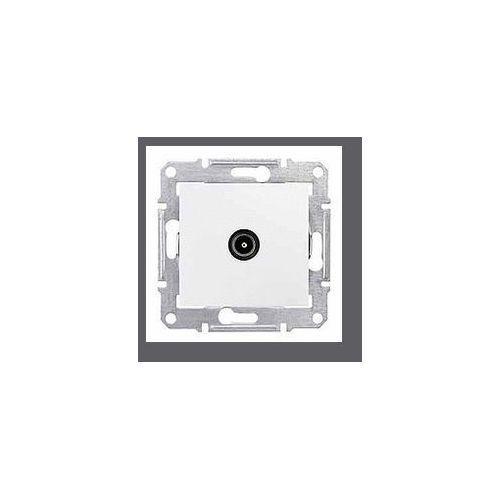 Sedna gniazdo antenowe tv (1db) końcowe białe sdn3201621 schneider marki Schneider electric