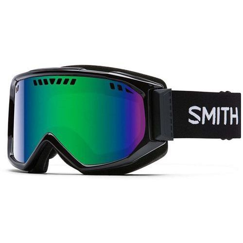 Gogle snowboardowe - scope pro black green sol-x mirror (zw9-99c5) marki Smith