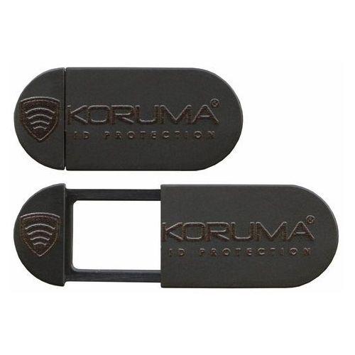 Koruma® Ruchoma zasłonka zaślepka na kamerę internetową w laptopie i tablecie - czarny (5902730820611)