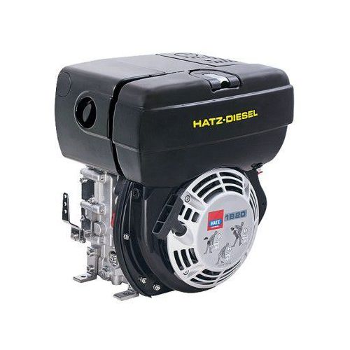 Silnik diesla Hatz 1B20 rozruch ręczny