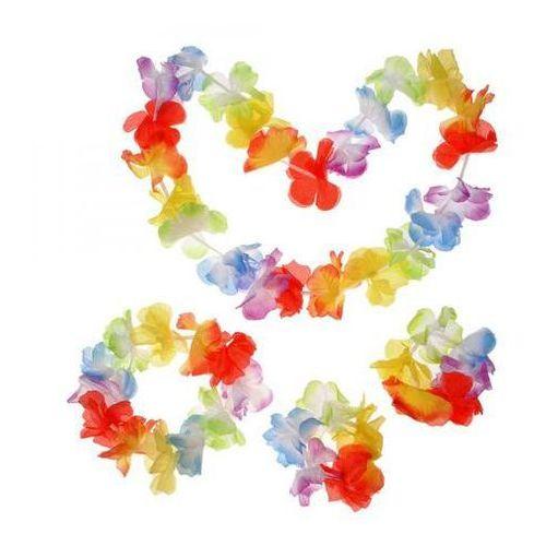 Zestaw - komplet hawajski kolorowy - 4 częściowy marki Kraszek