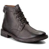 Clarks Kozaki - clarkdale bud 261277767 black leather