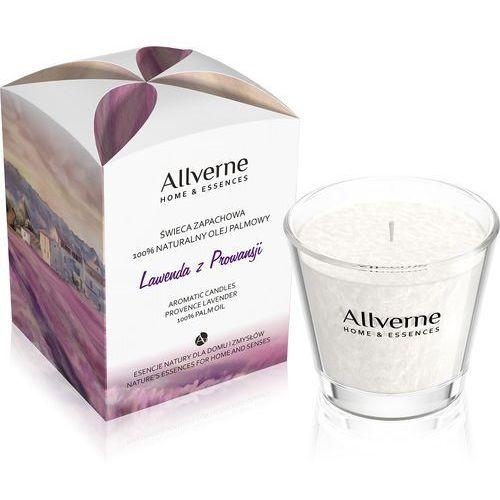 170g lawenda z prowansji świeca zapachowa marki Allverne
