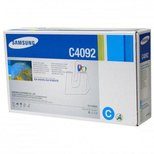 Samsung oryginalny toner clt-c4092s, cyan, 1000s, samsung clp-310, n, clp-315, clx-3170fn, clx-3175n, fn, fw