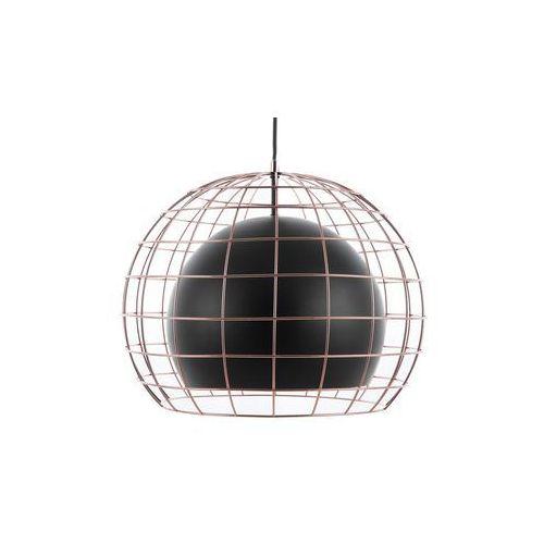 Beliani Lampa wisząca metalowa czarna liri (4260586352559)